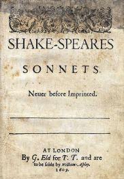 Sonnets - 1609