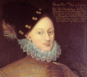 Edward-de-Vere - Earl of Oxford,1575