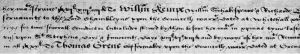 Chamber Account to Shakespeare