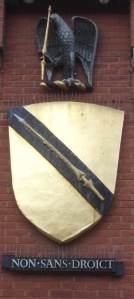 Coat of Arms on Shakespeare centre