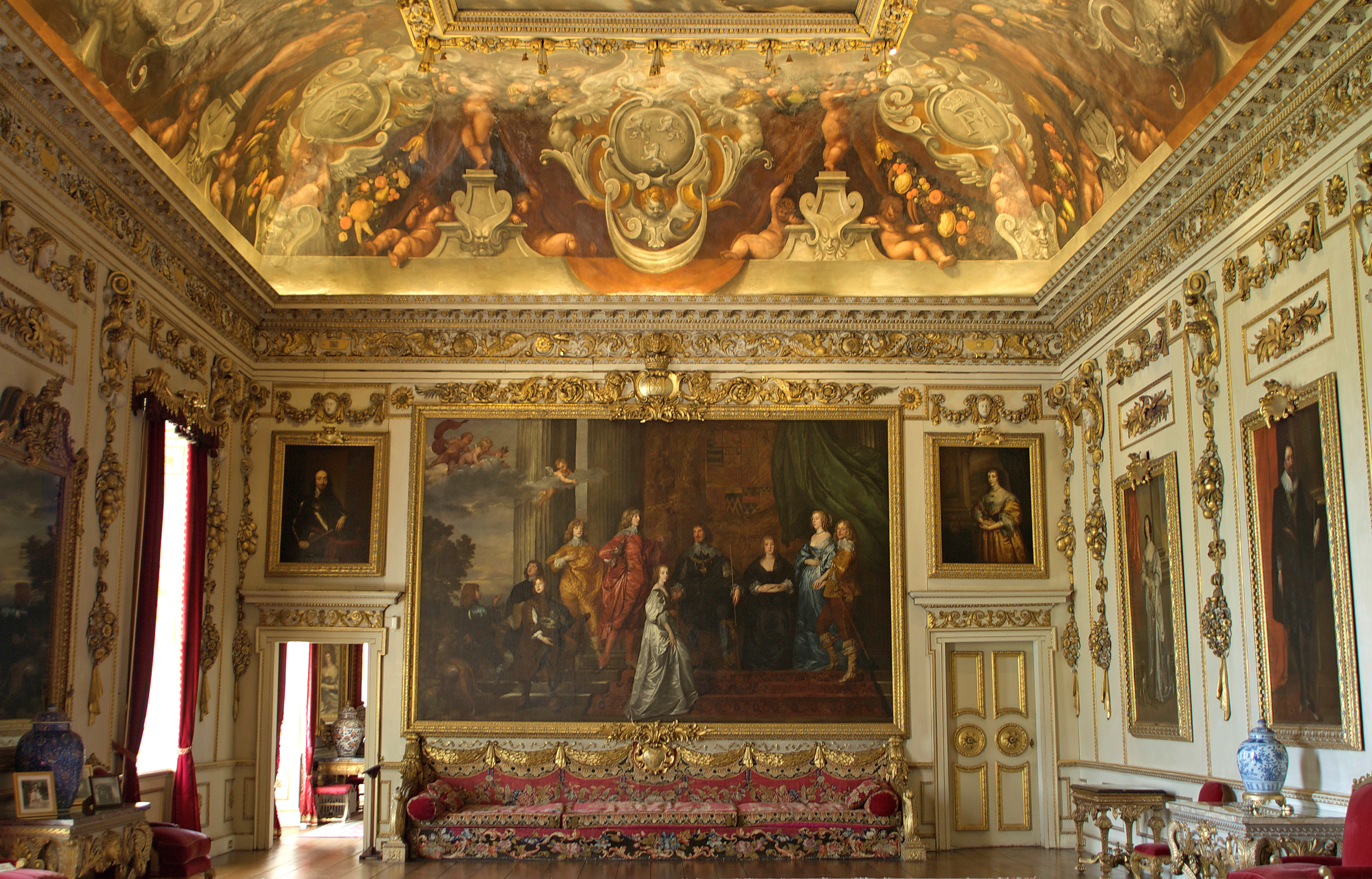 Double Cube Room Wilton House Shakespeare Re Invented