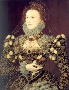 Elizabeth I - Phoenix portrait