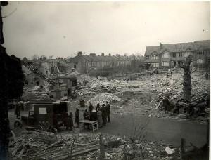 Endlebury Road 1945