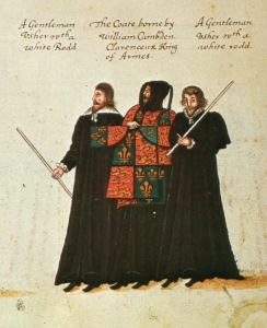 Funeral procession of Elizabeth I - William Camden, Clarenceux, 1603