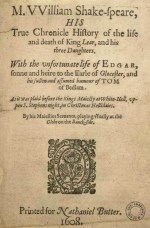 King Lear - 1619 (false folio version)