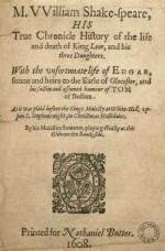 King Lear - 1619 (false folio version)