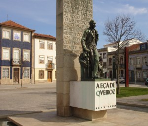 Queiroz statue