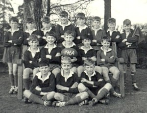 RGS Guildford Rugby team 1964