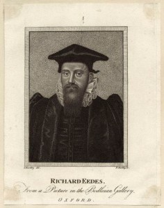 NPG D25946,Richard Edes (Eades),by; after Edward Harding; Sylvester Harding