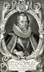 Robert Sidney 1st Earl of Leicester by Simon de Passe 1617