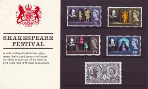 Shakespeare Festival stamps