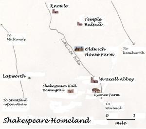 Shakespeare homeland