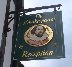 Shakespeare sign