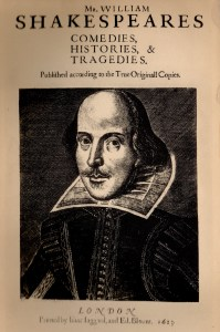 Shakespeare title page
