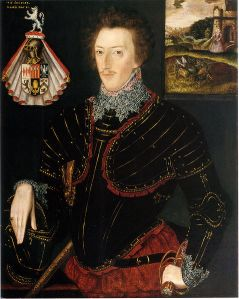 Sir Edward Hoby - 1583
