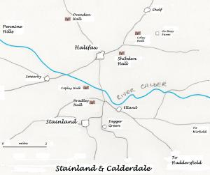 Stainland and Halifax