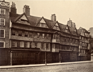 Staple Inn -Tudor building