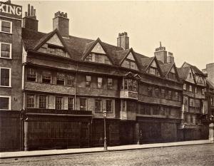 Staple Inn -Tudor building