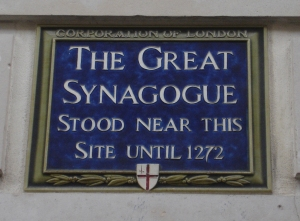 Synagogue sign 2