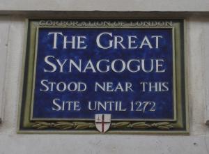 Synagogue sign 2