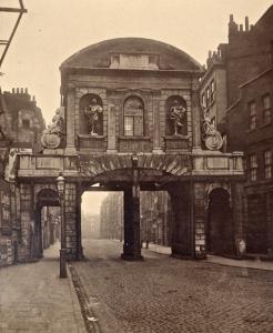 Temple Bar - original position in Fleet Street