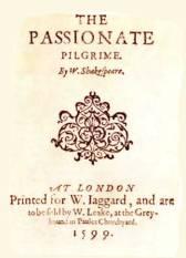 The Passionate Pilgrim -1599