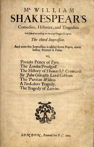 Third folio - second edition