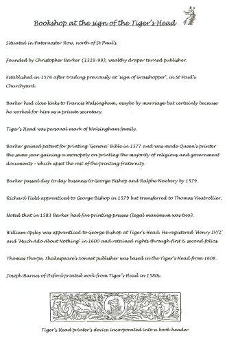 Tiger's Head summary