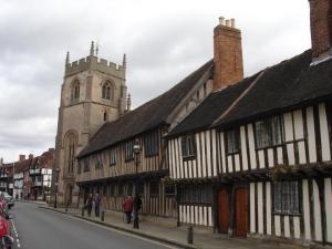 Stratford Grammar School - beside the chapel